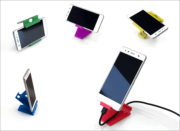 phone stand cool things to 3d print