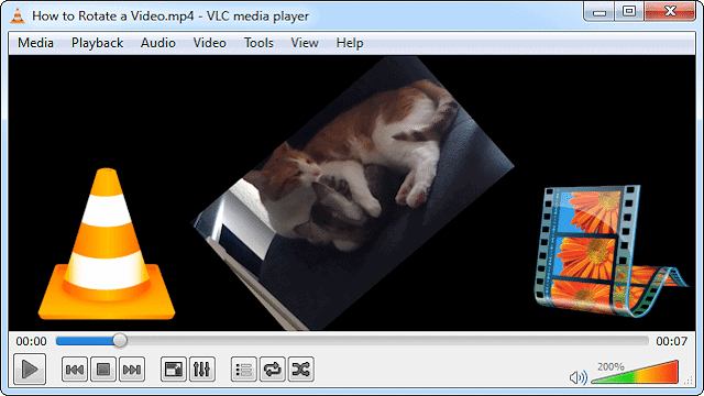 How to rotate a video using vlc or windows movie maker ccuart Images