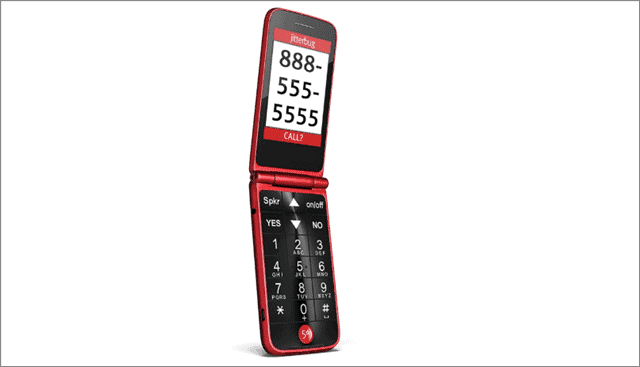 jitterbug flip cell phones for seniors