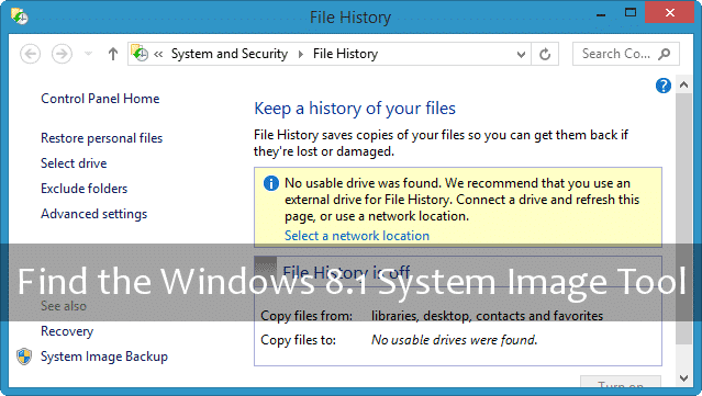 finding-windows-system-image-tool