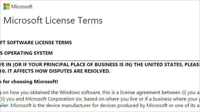 Know If You Need To Worry About Windows 10 Licence Terms