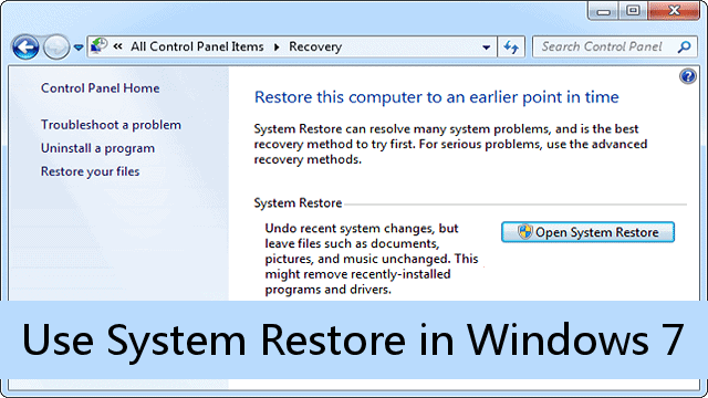 using-system-restore-windows-7