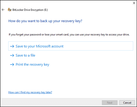 save to your Microsoft account
