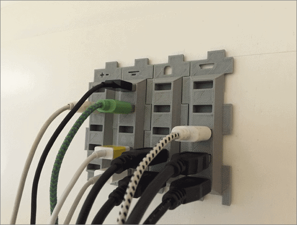 cable holder cool things to 3d print