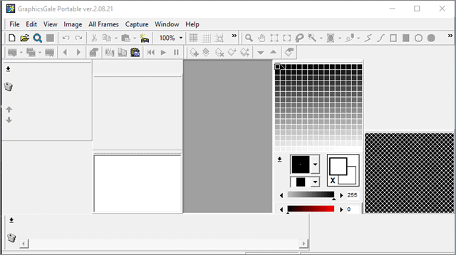 graphics gale pixel art program