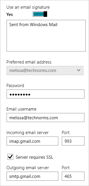 windows-mail-settings