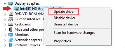 Update Drivers when windows 10 file explorer stop responding