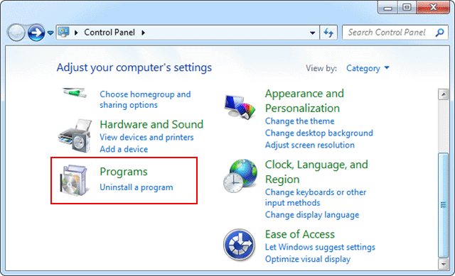 open-control-panel-windows-7