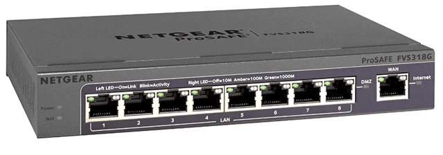 netgear prosafe network security