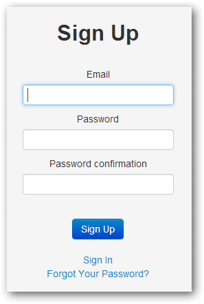 signing-up