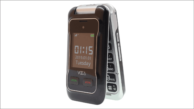 11 voca senior cell phone