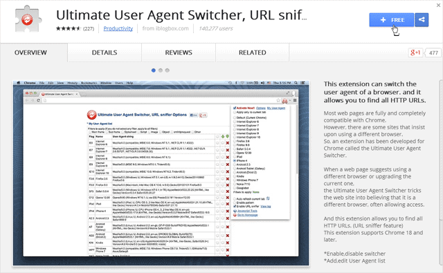 download-page-for-user-agent-switcher