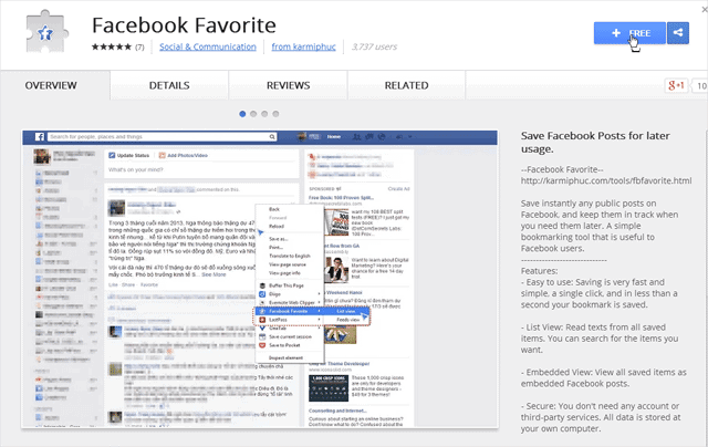 save your favorite facebook posts for later with fb faves