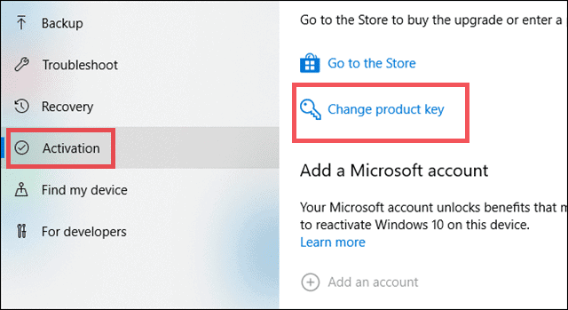 activate change product key to resolve your windows license will expire soon