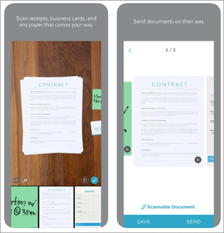 evernote scannable best scanner app for iphone