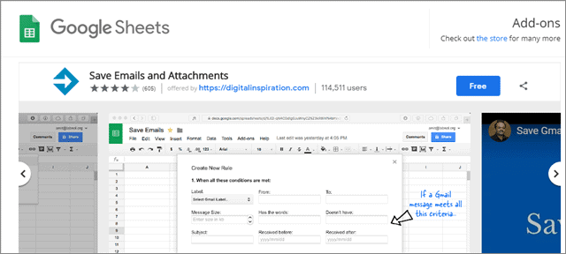 download emails for Gmail