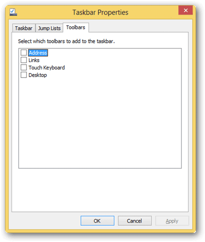 toolbars-settings