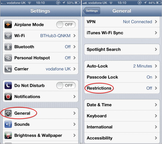 accesing-ios-restriction-settings