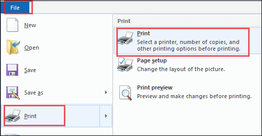 recognize printer through paint active directory