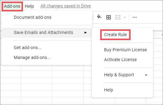 create rule for downloads