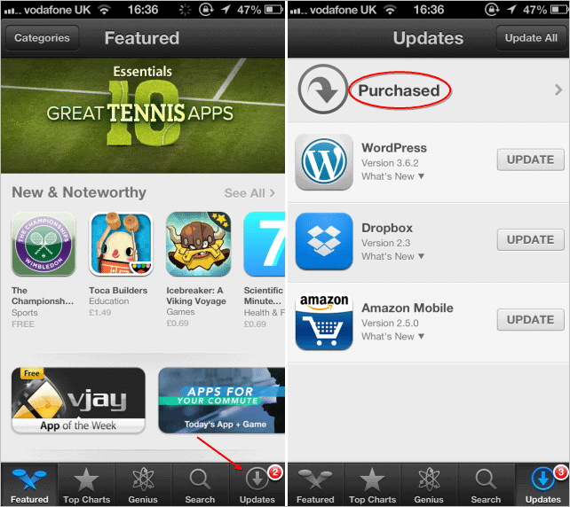 viewing-the-apple-app-store