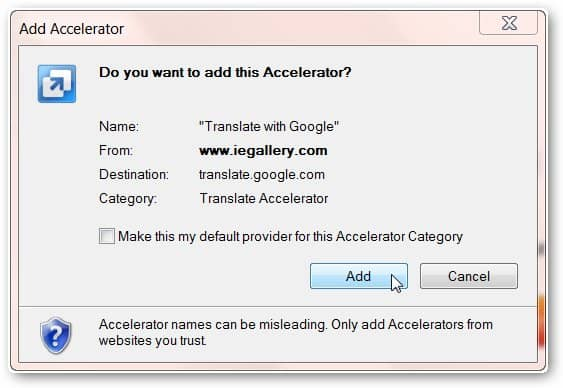 Add Google Translate to Browsers to Get Instant Translations