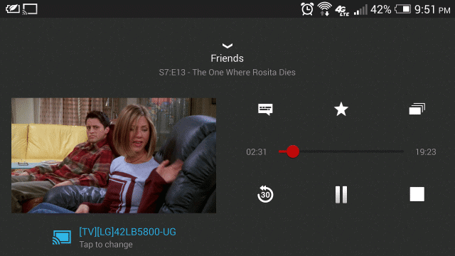 Use Netflix for Android as Remote for Watching Netflix on TV
