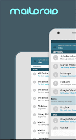 15 maildroid pro best email app for android