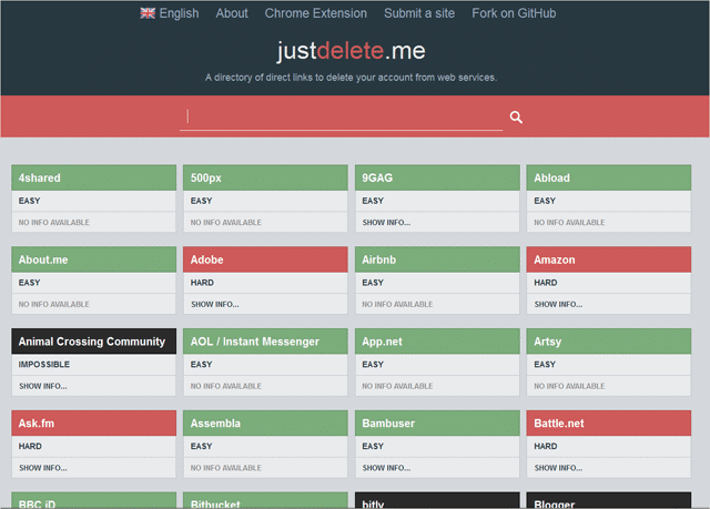the-main-page-of-Justdelete.me