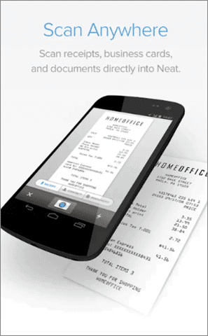 neat receipts scanner app