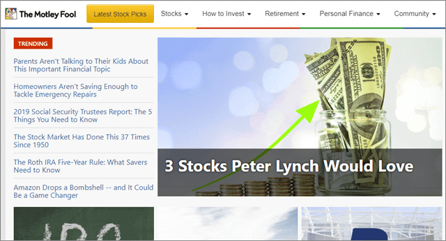 the motley fool best financial news websites