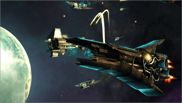endless space games like eve online