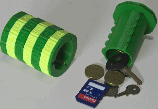Combination safe most useful 3d printed objects