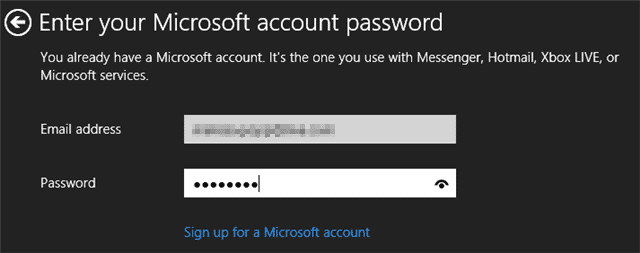 entering-your-microsoft-account-password