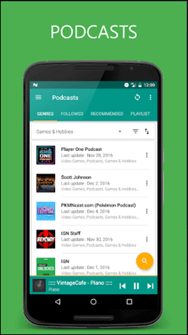pixel-android-app-podcast-view