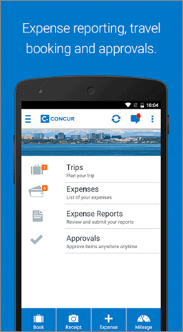 sap concur best receipt scanner app