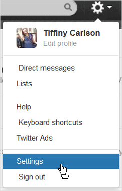 drop-down-menu-in-twitter-with-settings-option