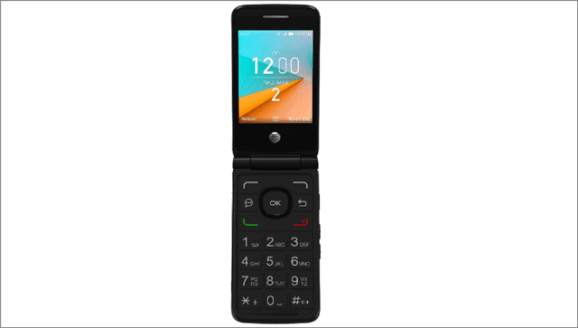 AT&T Cingular Flip phones for seniors and elderly