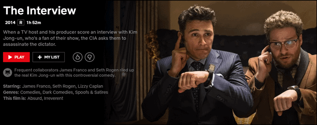 best-comedy-movies-on-netflix-the-interview