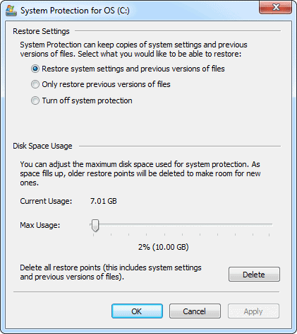 configure-system-restore-windows-7