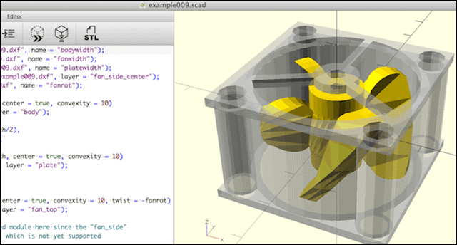 openscad best 3d modelling software for 3d printing