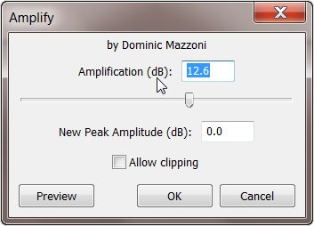 amplification-settings-in-audacity