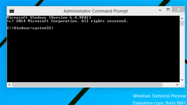 how to get command prompt admin in windows 10