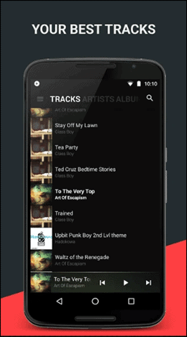 black-best-music-player-android