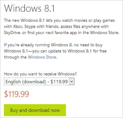 How to Buy Windows 8 1 Online or Upgrade From a Retailer
