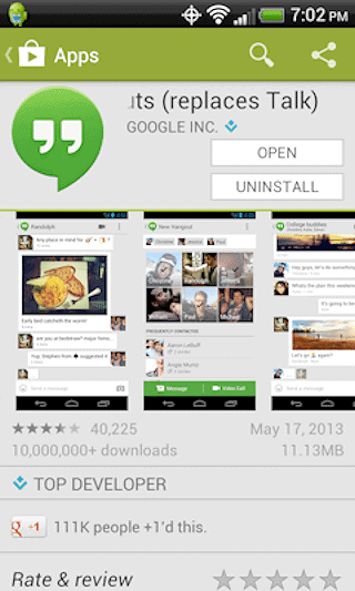 How to Use Google Hangouts on Android Devices