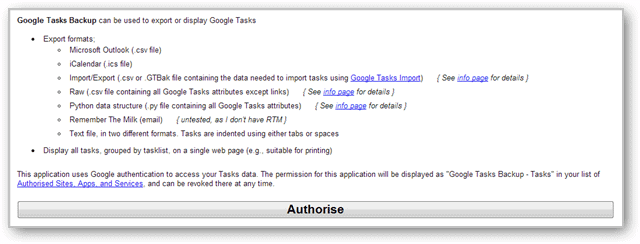 How to Export Your Google Tasks with Google Tasks Backup