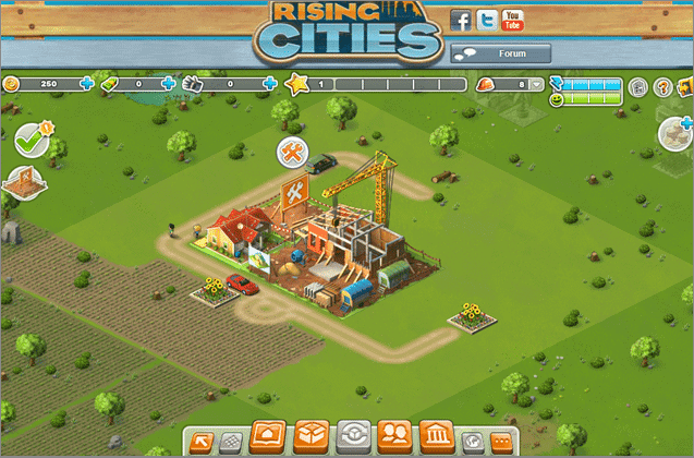 rising cities free city building games