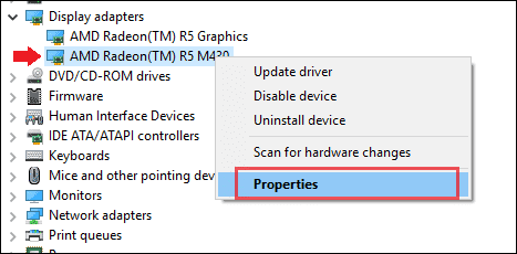 device manager for drivers