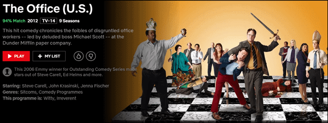 the office-best-comedies-on-netflix